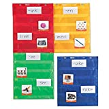 Magnetic pocket charts are ideal for small group activities, whole class demonstrations, and more Teach new vocabulary, introduce rhyming words, or provide visual assistance for math drills and equations Features 5 rows of clear pockets for your own ...