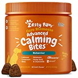 Zesty Paws Dog Calming Bites - Stress Relief Support Supplement Helps...
