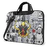 15.6″Durable Hombro Mensajero Bolsa maletín PC Aula de Asesinato Moda Impermeable Ordenador Portátil/portátil/Tablets