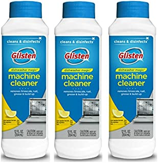 Glisten Dishwasher Cleaner & Disinfectant, Removes Limescale, Rust, Grease and..