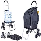 dbest products Stair Climber Bigger Trolley Dolly, Moroccan Tile...