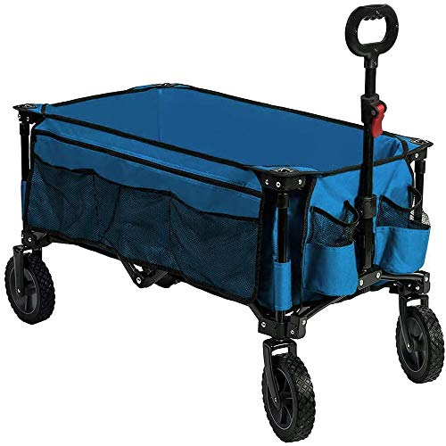 Timber Ridge Camping Wagon Folding Garden Cart Shopping...