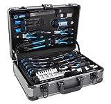 Karcher maletín de herramientas - 101 piezas incluye martillo, alicates, juego de destornilladores, llave de carraca, sierra, cinta métrica y mucho mas
