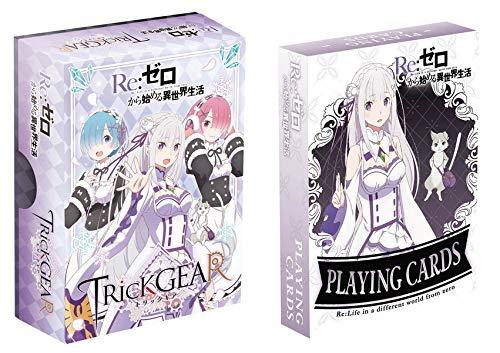 日本卓上開発 トリックギア+プレイングカードセット -Re:ゼロから始める異世界生活- カードゲーム