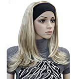 Lydell Long Straight Wave Headband Synthetic Wigs Blonde Highlighted Wigs (L16/613)