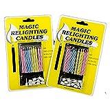 20pcs Funny Magic Trick Relighting Candle Birthday Cake Decors Party Joke Xmas Gift