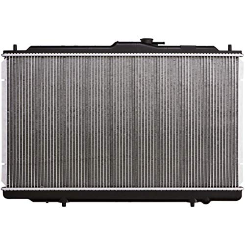 JJ AT Complete Radiator Replacement for 1999-2001 TL 3.2L 1998-2002 Accord V6 Automatic Transmission with Oil Cooler 5/8 Core Thickness