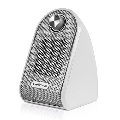 Pro Breeze Calefactor Eléctrico Cerámico 500W - con Termostato...