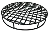 Walden Fire Pit Grate Round - Premium Heavy Duty Steel Grate for Outdoor Firepits - Above Ground Fire Grate (29.5')