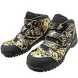 [ミズノ] 安全靴 プロテクティブスニーカー F1GA1802 オールマイティLS 25.0 50金×黒