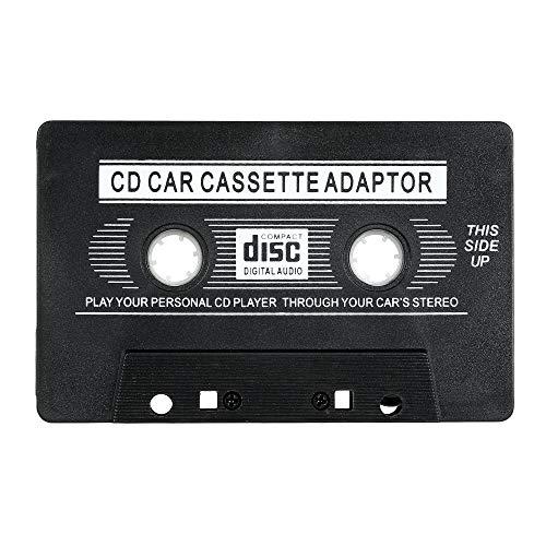 Festnight Adattatore Cassette per Auto, 3,5 mm AUX Adattati per iOS Andriod Phone MP3 CD