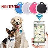 DREZZED Mini Portable Round Shape Bluetooth Intelligent Anti-Lost Device GPS Tracker GPS Trackers