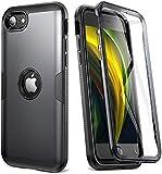 YOUMAKER (ユーメーカー) iPhone SE 2020 用メタリックデザイン ケース用 フルボディ 頑丈 ス……