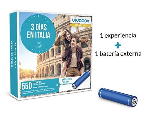 VIVABOX Caja Regalo -3 DÍAS EN Italia- 550 estancias. Incluye: una...