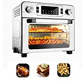 VCF 23-Qt Air Fryer Toaster Oven, 10-IN-1 Countertop Convection Oven, 6-Slice Bread 12' Pizza or 5.5LB Turkey with Accessories & Recipe