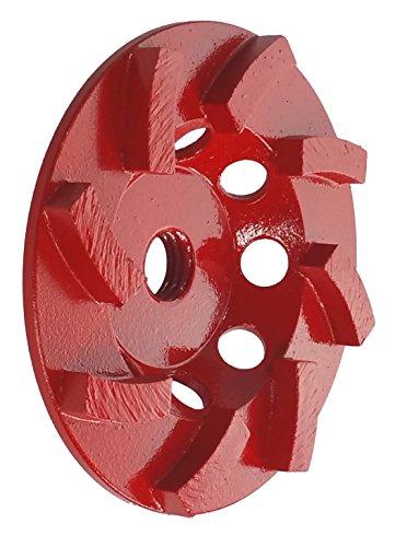 OX Tools OX-PCGSA-4 Professional 4' Cup Grinder 8-Segment Spiral - 5/8'-11 Arbor, 5 mm Segment Height