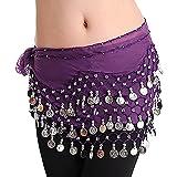 LQZ(TM) Ceinture Danse Orientale Belly Danse du ventre Ethnique Soie Écharpe Foulard Femme Fille -...