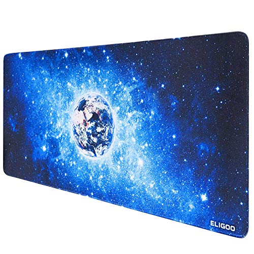 Anpollo Tappetino Mouse Gaming Grande Mouse Pad XXL 900x400mm con Base in Gomma Antiscivolo Cielo...