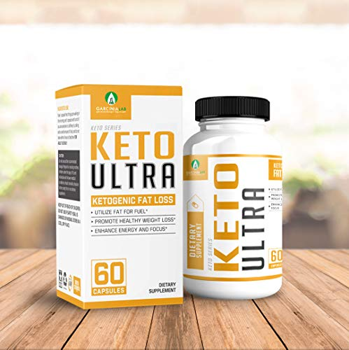 Keto Pills Diet - Keto Ultra Supplement for Fat Burning Weight Loss w/Ketogenic Diet BHB Salts - Formulated to Support Fat Burn, Energy Boost, and Maintaining Ketosis | 60 Count Bottle USA Made 1