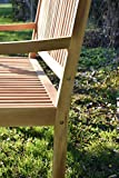 Chillroi Kingsbury Gartenbank Holz - 7