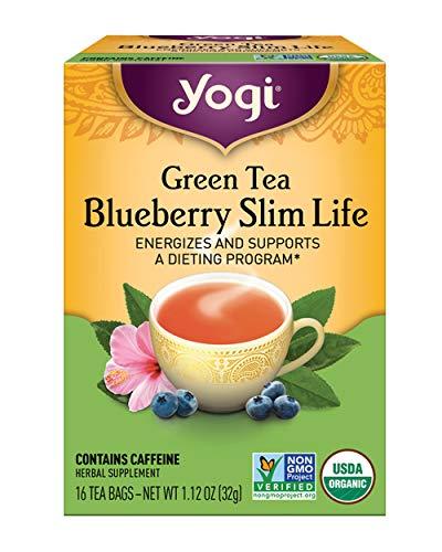 Yogi Tea, Green Tea Blueberry Slim Life, 16 Count 1