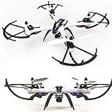 TIME4DEALS JJRC H16 Nueva Versión Tarantula Drone 4 Canales 2.4GHz LCD Remoto Quadcopter de Control con Hyper COI Modo Función Orientación (No Cámara) - Negro