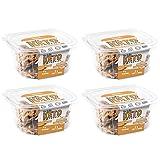 Keto Cookies - LOW CARB - SUGAR FREE & GLUTEN FREE - PEANUT BUTTER Keto Cookies | (4) 6oz Tubs of 10 Cookies Each | Healthy Diabetic, Paleo, Desserts Sweets, Diet Foods