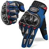 NICEWIN Motorcycle Gloves for Men Touchscreen Mountain Dirt Bike Full Finger Gloves Road Racing,...
