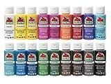 Apple Barrel PROMOABI 18pc Matte Finish Acrylic Craft Paint Set, Assorted Colors 1, 18 Count