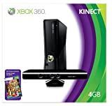 Xbox 360 4GB Console with Kinect (Video Game)