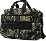 ACOMOO Tactical Maletín 14 pulgadas Laptop Messenger Bag Style Bolso de hombro Bolso para hombres Camo Black