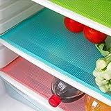 Froomer CU-SA0490 4 Tapis de réfrigérateur, bactériens,...
