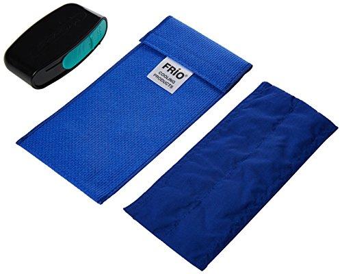 Frio Duo Blue - Portafoglio refrigerante con cestino affilato, colore: Blu