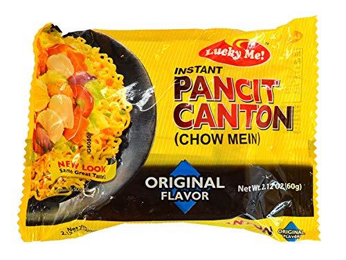 LUCKY ME! PANCIT CANTON ORIGINAL FLAVOUR インスタント パンシットカントン(焼きそば) オリジナル フレー...