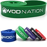 WOD Nation Pull Up Assistance Band - Best for Pullup Assist, Chin Ups, Resistance Bands Exercise,...
