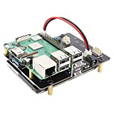Geekworm X820Raspberry Pi SATA HDD/SSD Storage expansion Board interfaccia USB 3.0compatibile con 6,3cm SATA HDD/SSD per Raspberry Pi 3Model B/2B/B +/a +