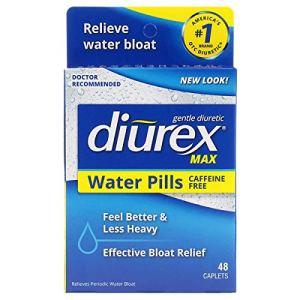 Diurex Max Water Pills - Maximum Strength Caffeine Free Diuretic - Relieve Water Bloat - 48 Count 3 - My Weight Loss Today