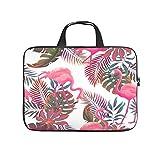 Bolso para ordenador portátil Flamingo Durable Cómodo -FlamingoComputer Bag Compatible con 13-15.6 pulgadas MacBook Pro blanco 12 pulgadas