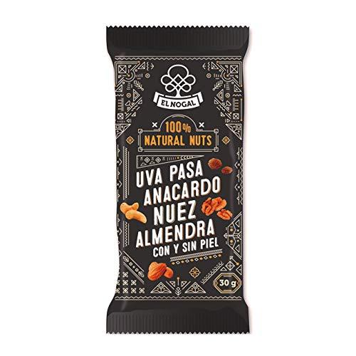 EL NOGAL Frutos Secos Mix de Frutos Secos 100% Naturales Bolsa, 30 G