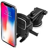 iOttie Easy One Touch 4Autohalterung für Armaturenbrett und Windschutzscheibe für iPhone XS Max R 8 Plus 10 W für Samsung Galaxy S10 E S9 S8 Plus Edge, Hinweis 9