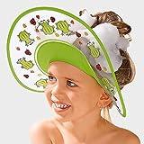 BABY-WALZ Visière anti-shampooing « Grenouille » accessoires de...