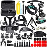 61 in 1 Action Camera Accessories Kit for GoPro Hero 9 8 7 6 5 4 Hero Session 5 Black Insta360...
