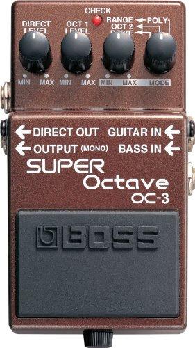 【徹底解説】John Mayer(ジョンメイヤー)のエフェクターボード・機材を解析!ギターを支える機材の数々を紹介!【ペダル・アンプ金額一覧】 BOSS SUPER Octave OC-3