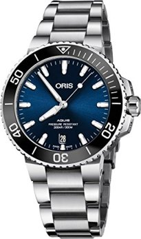 Oris Aquis Blue Dial Automatic Men's Stainless Steel Watch 01 733 7732 4135-07 8 21 05PEB