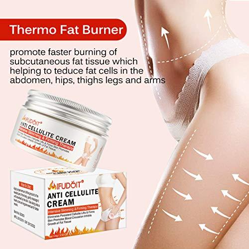 Fat Burning Cream for Belly, Body Anti-Cellulite Cream, Hot Cream Cellulite Treatment, Slimming Cream, Waist Training Cream, Weight Loss Cream for Men and Women, Workout Enhancer for Women-Men120ml 2