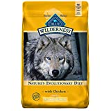 Blue Buffalo Wilderness High Protein Grain Free Natural Adult Healthy Weight Dry Dog Food, Chicken 24-lb