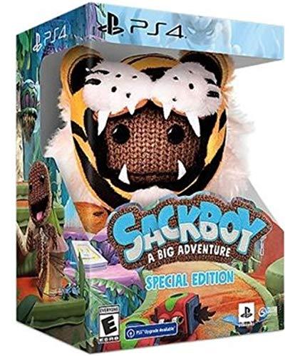 Sackboy: A Big Adventure Ed. Especial PS4.