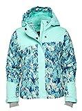Arctix Girls Suncatcher Insulated Winter Jacket, Island Azure, Medium