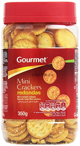 Gourmet Mini Crackers Redondas, 350g