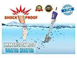 A & Y 2000 W Shock Proof Metal Water Heater Immersion Rod, Silver